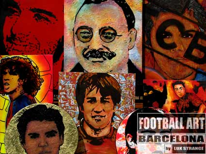 Football Art Barcelona-2